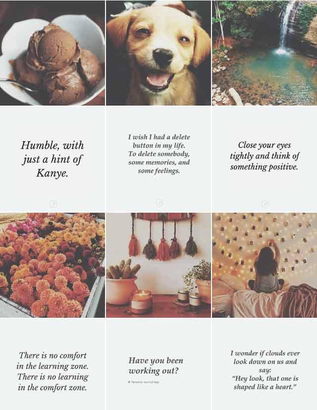 instagram feed personaljournalapp